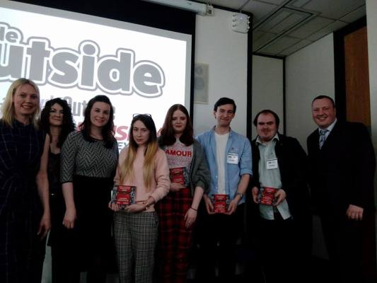 The future is bright for journalism as  The Pattern mag was praised by a newspaper editor!