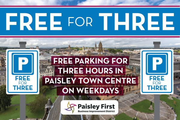 Paisley First campaigns for free parking in the town centre