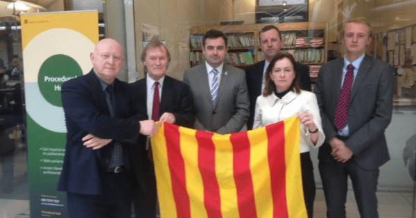 Local MP calls for debate on Catalan political prisoners