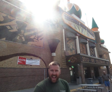 Mitchell's Corn Palace was the weirdest place ever.