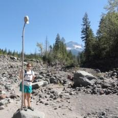 re-enacting the Mt. Hood naming ceremony of my ancestors