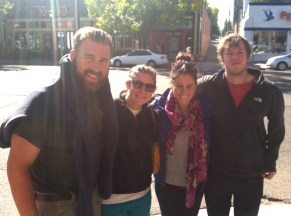 Brunch with Natalie and Stu! So good to see them in Denver