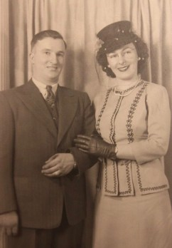 John & Hazel married November 14, 1945