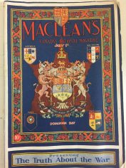 MacLean's Magazine - feature on WW1