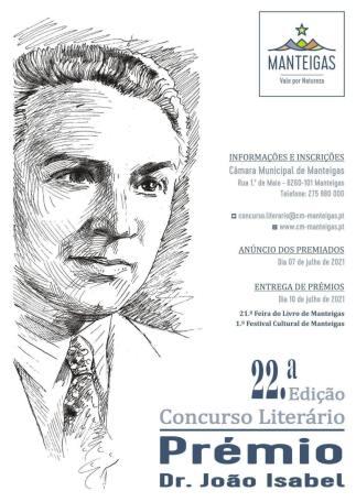 22.ª Edição Concurso Literário – Prémio Dr. João Isabel