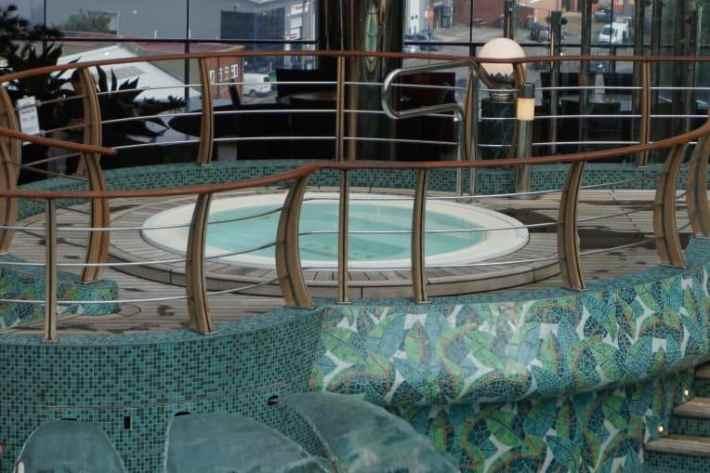 MSC Cruise Ship Spa