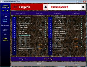 Bayern v Dusseldorf BL