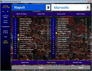 Napoli v Marseille UCL