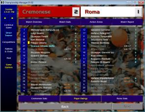 cremonese-roma