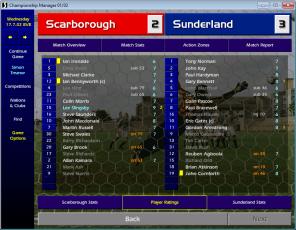 Scarborough Sunderland