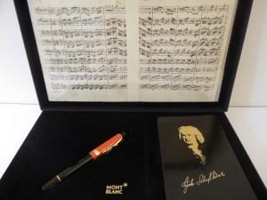 Stylo plume Montblanc série limitée Johann Sebastian Bach