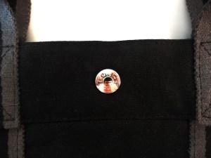 Sac cabas Hermès Toto Bag en toile Noir grand modèle