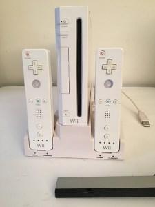 Console Nintendo WII blanche et WII Balance Board