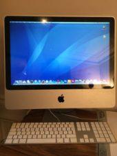 Ordinateur Apple iMac OS X version 10.6.8 Intel Core 2 Duo