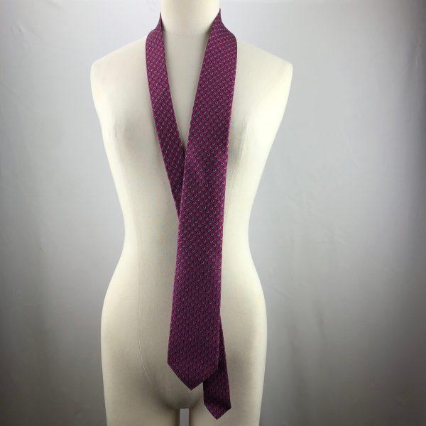 Cravate Hermes écureuils en longueur