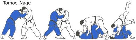 Tomoe Nage Execution