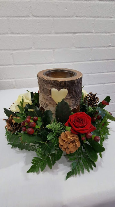 Wooden Table Centres