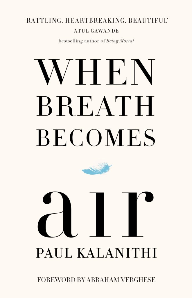 Picture of the book cover When Breath Becomes Air