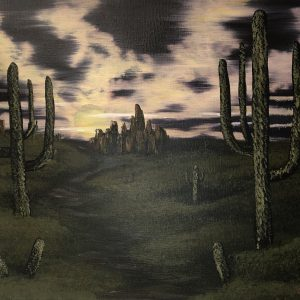 """acrylic-painting-by-chelsey-marchand-""""desert-eve"""""""
