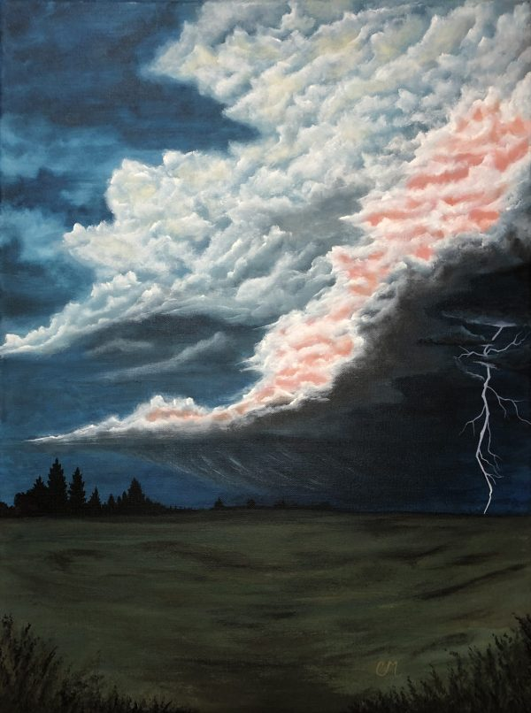 Rolling-Storm-Acrylic-Painting-by-Chelsey-Marchand