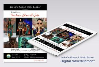Sankofa Advertisement by Lori Beth