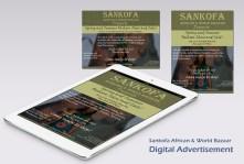 Sean, Sankofa digital advert