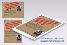 Cynthia, Sankofa digital advert