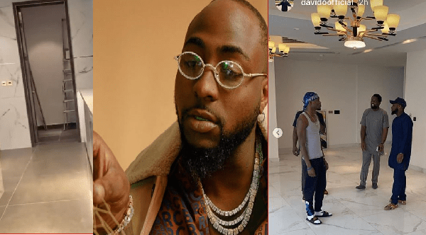 Davido Set To Move To An Elevator Fixed House In Banana Island