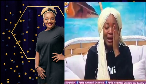 #BBNaija2020: HOH, Lucy In Tears, Complains To Biggie (Video)