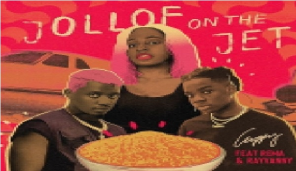 Cuppy - Jollof On The Jet Ft. Rema & Rayvanny (Animation Video) || Download Video