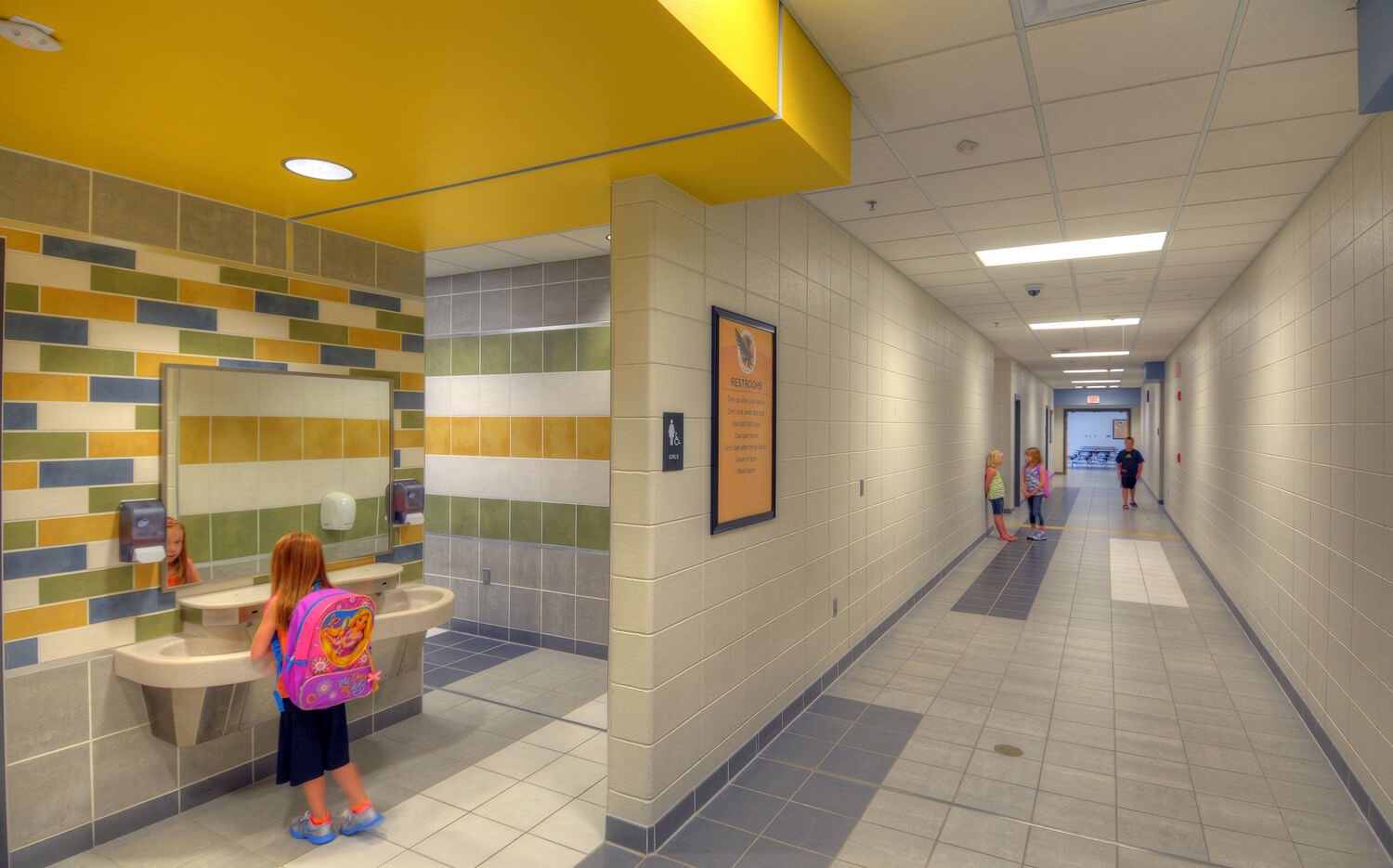 cmba-architects-portfolio-hinton-elementary--restroom Elementary Bathroom Design on room design, toilet design, small bath design, staircase design, tile design, garage design, washroom design, door design, interior design, foyer design, restroom design, pantry design, basement design, closet design, exterior design, bedroom design, nursery design, shower design, kitchen design, bathtub design,