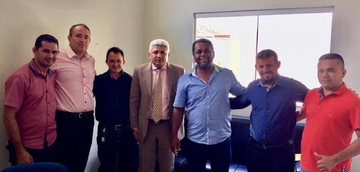 Reunião entre vereadores de Brasil Novo e Medicilândia