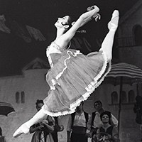 A footnote in ballet history ?