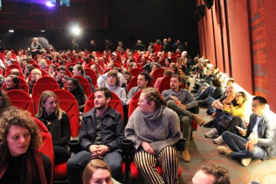 Salle comble et un public enthousiaste pour la projection du documentaire BORN IN SYRIA (Nacido en Siria) de Hernán Zin !