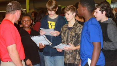 8th grade career fair 2015-10