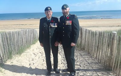 C&E Branch represented at D-Day commemorations in France
