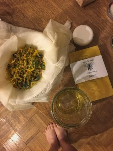 Calendula Salve for skin. cmckane