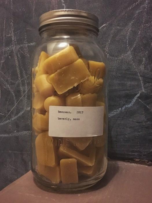 beeswax cubes via @cmckane