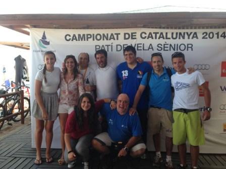Grup Club Marítim Cubelles al Campionat de Catalunya 2014