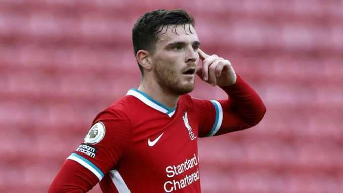 Andy Robertson Liverpool 2020-21