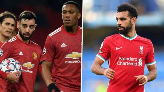 Manchester United Liverpool 2021