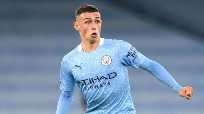 Phil Foden Manchester City 2020-21