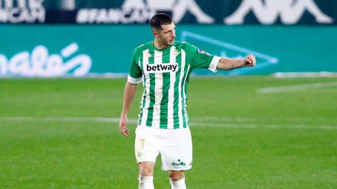 Guido Rodriguez Real Betis 2020-21