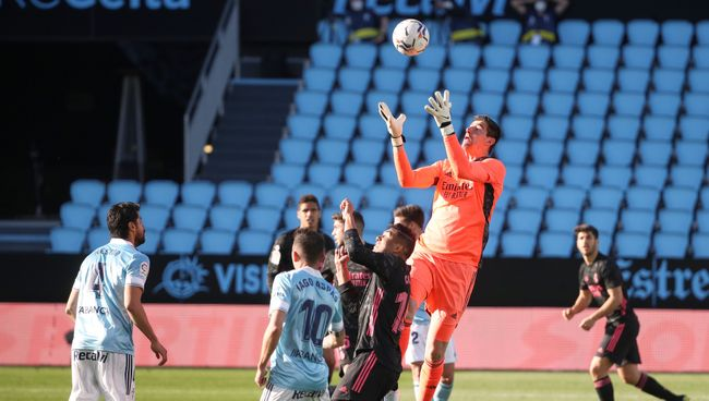 Thibaut Courtois believes he is in the best form of his career for Real Madrid