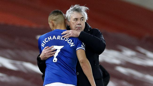 Carlo Ancelotti pinpointed the areas where Richarlison can look to improve