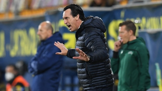 Unai Emery will come against one of his former employers in the Europa League semi-finals.
