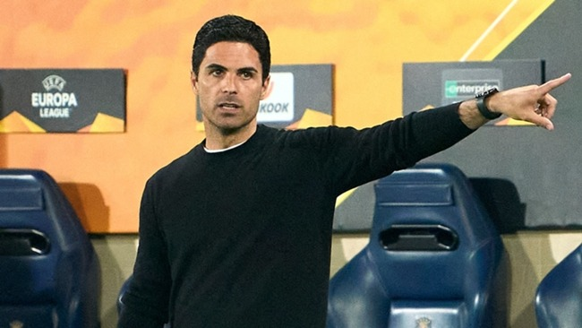 Mikel Arteta saw Arsenal produce a much-improved second-half display against Villarreal.
