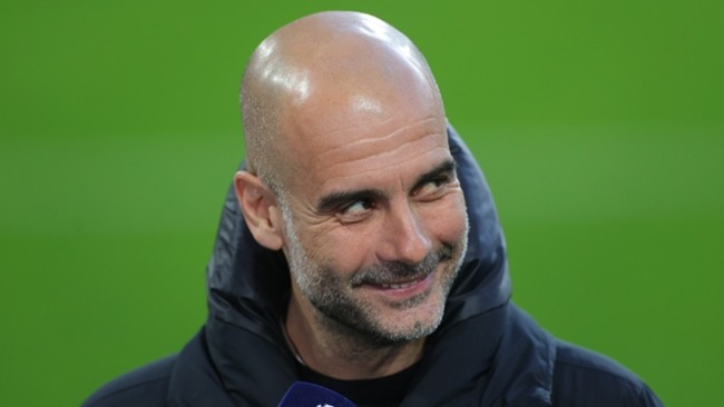 Man City boss Guardiola voiced his disapproval of Super League plans