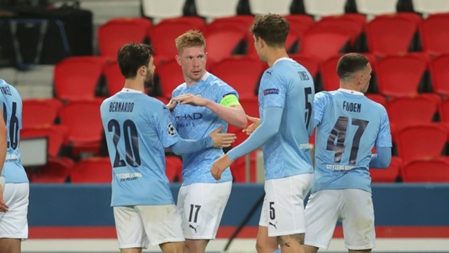 Manchester City rose to the occasion against PSG