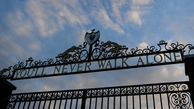 Liverpool's Shankly Gates